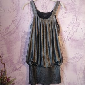 Silver sparkly Tunic